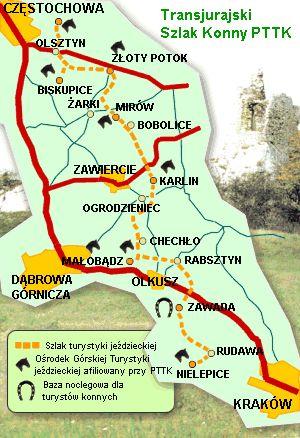 Horse trail in Krakow-Czestochowa Upland #horse #horseriding #Poland