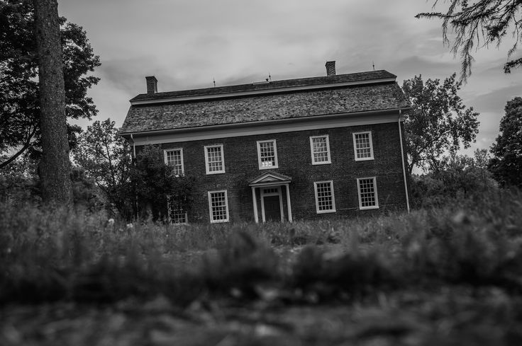 Strange mist covers the grounds of Herkimer Home State Historic Site, former residence of Revolutionary War hero, Nicholas Herkimer. Word to the wise - watch out for flying candlesticks.