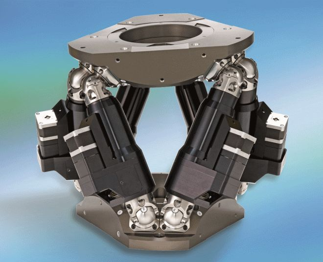 Hydraulic Arm Design : Newport introduces hxp hexapod a high load axis