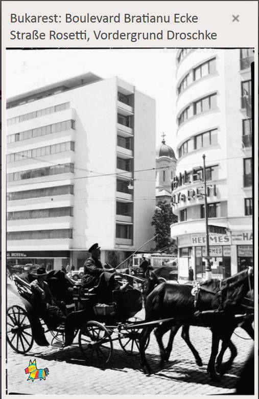 PHOTO Wilhelm Alexander Pragher mai 1937 — in Bucharest, Romania.