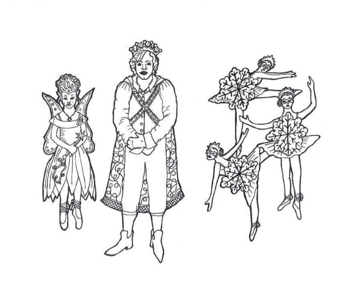 the nutcracker story coloring pages - photo#16
