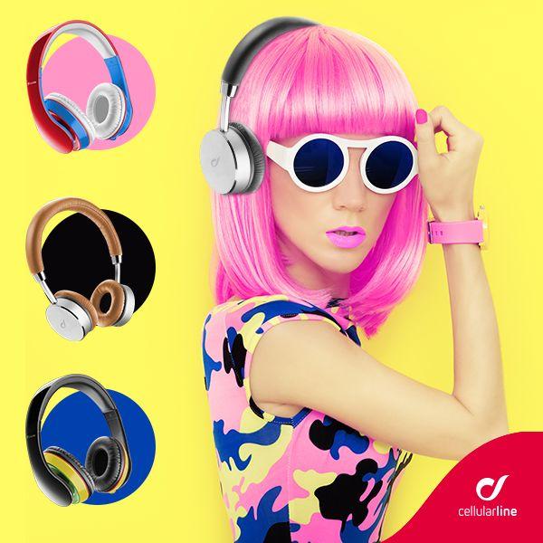 JACKWASP: colorate e leggere, STINGWASP: in ecopelle e metallo...a ognuno il suo stile! #style #fashion #trendy #cool #colori #musica #cellularline