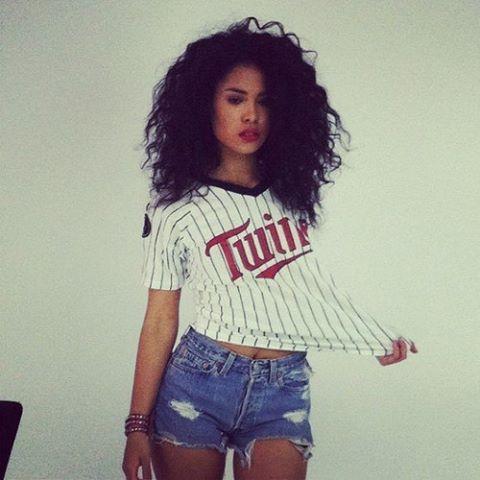 Short Black Curly Hair White Girl