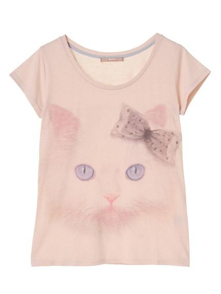dazzlin / CATプリント Tシャツ 3,990JPY