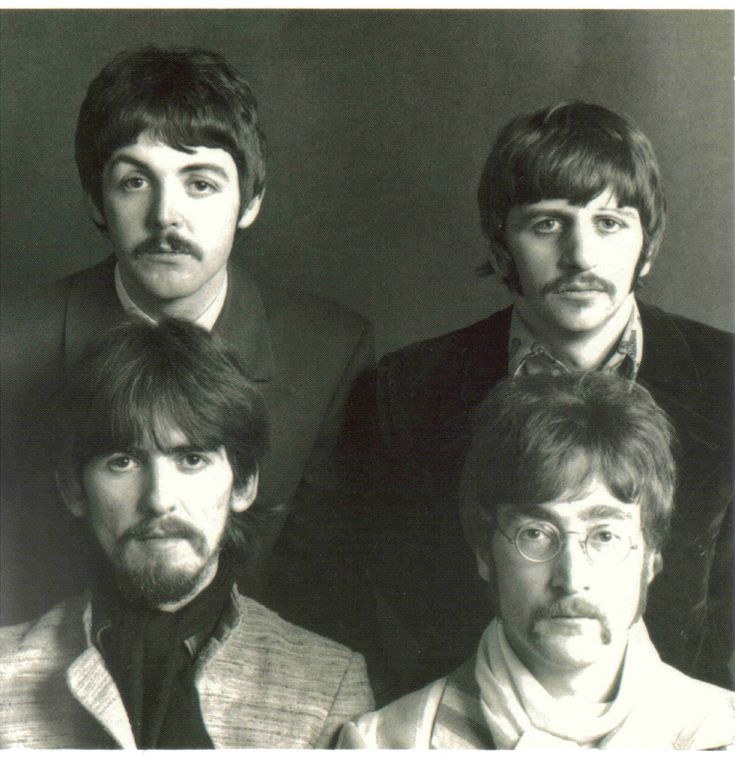 But the second these lads could break free and become their true counter-culture progressive selves, they grew mustaches
