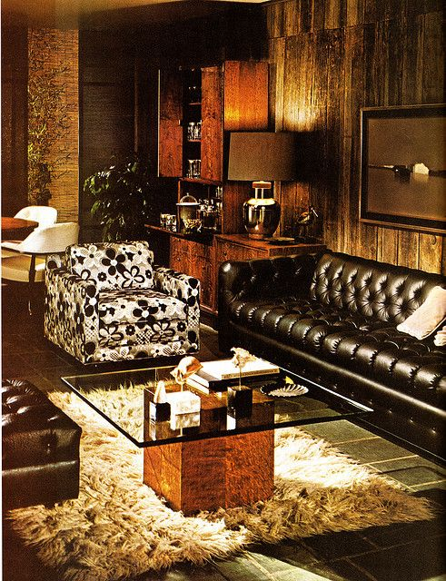 292 best 70s interiors images on pinterest for 70s living room furniture