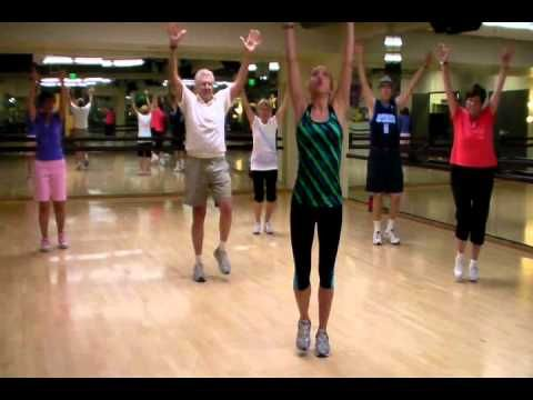 "Senior Fitness Class ""Joy To The World"" Dance Routine"