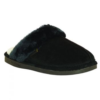 Old Friend Slippers Ladies Montana in Black