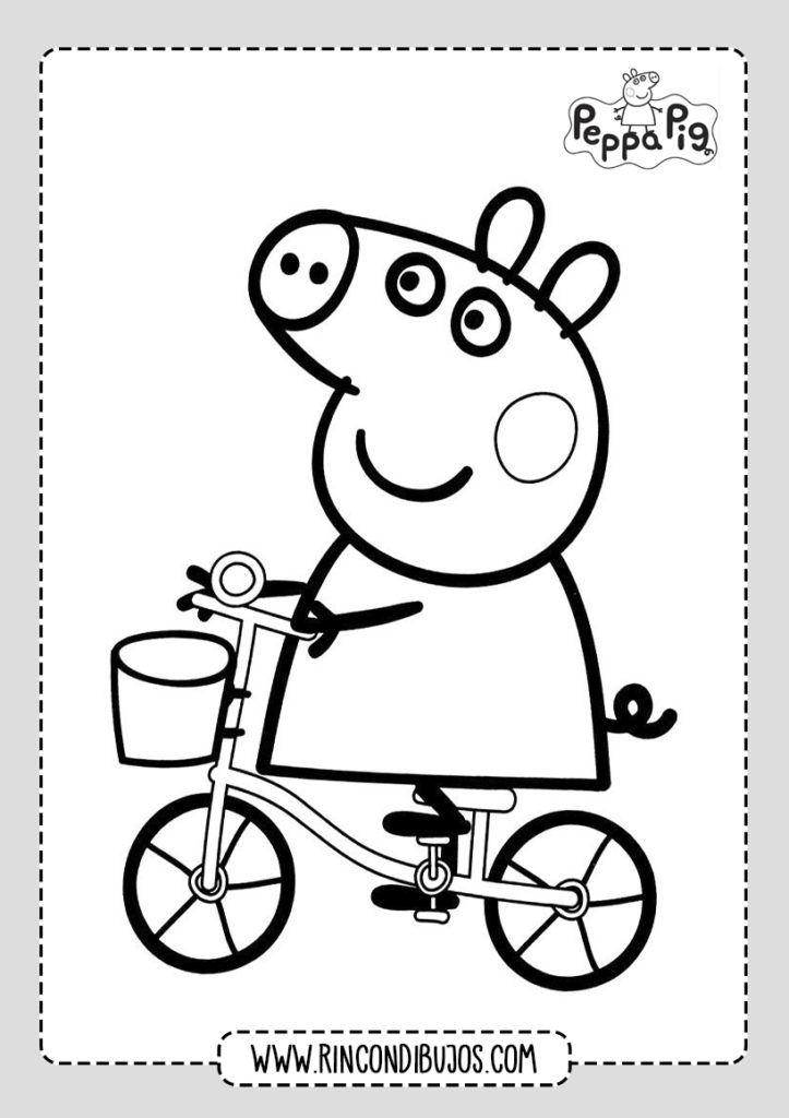 Peppa Pig Para Colorear Y Dibujar Rincon Dibujos Malvorlagen Kostenlose Malvorlagen Malvorlagen Fur Kinder