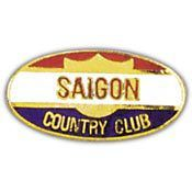 Vietnam Saigon Country Club pin - Meach's Military Memorabilia & More