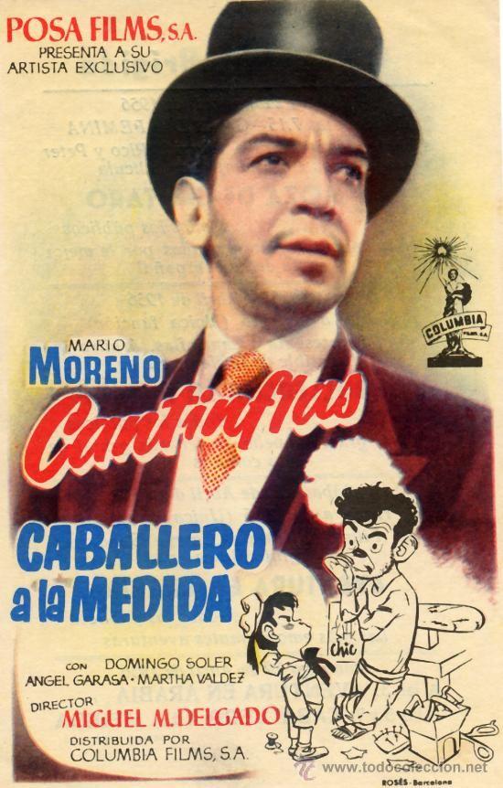 CABALLERO A LA MEDIDA (FOLLETO DE MANO ORIGINAL) CANTINFLAS - Foto 1