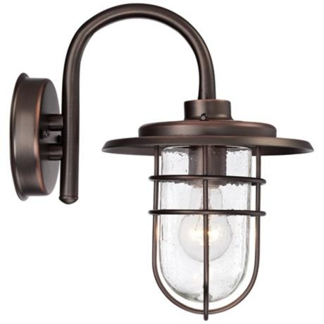 john timberland ellison 12 3 4 h copper outdoor wall light. Black Bedroom Furniture Sets. Home Design Ideas