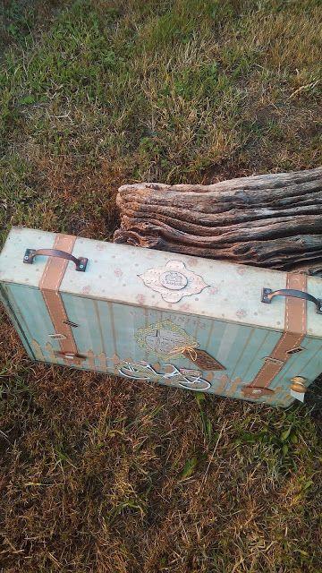 lascosasdeleni: caja de vino tuneada