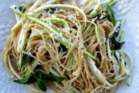 Спагетти с кабачками рецепт - макароны с цуккини рецепт :: JV.RU