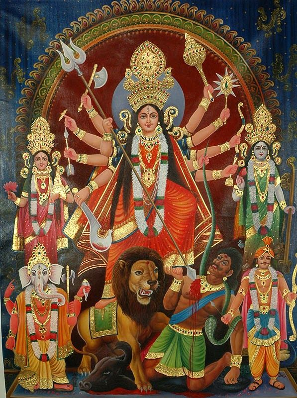 Goddess Durga The Mother Goddess & Her Symbolism Goddess Durga is the mother of the universe and believed to be the power behind the work of...