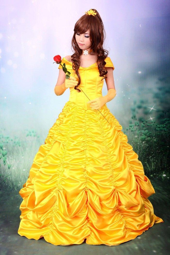 Белль костюм взрослых принцесса белль костюм красота и костюм зверь косплей хэллоуин костюмы для женщин платье на заказ