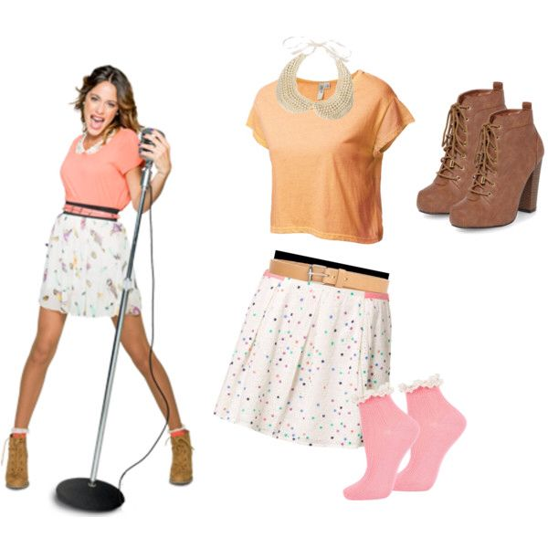 Outfit From Violetta Fashion Pinterest Jones Jones Verona And Disney