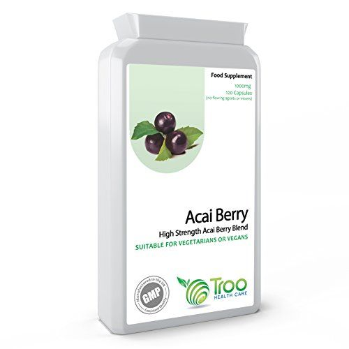 The Product Acai Berry (DOUBLE STRENGTH) - 1000mg capsules (100 VegiCaps)  Can Be Found At - http://vitamins-minerals-supplements.co.uk/product/acai-berry-double-strength-1000mg-capsules-100-vegicaps/