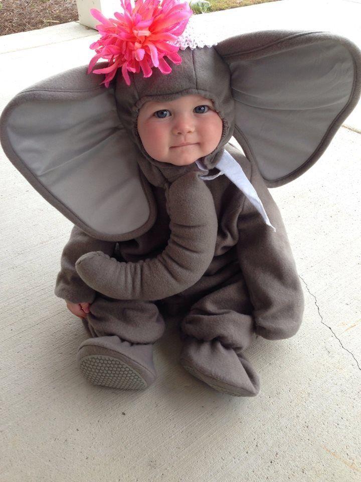 Disfraz de elefante para bebés