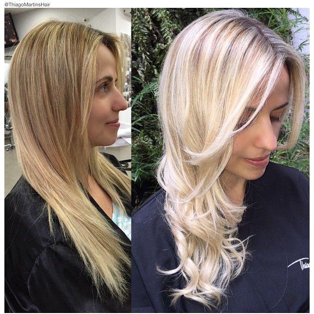 Lange blonde haare Am meisten angesehen Porno