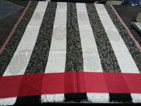 Classic Silk Jacquard Scarf