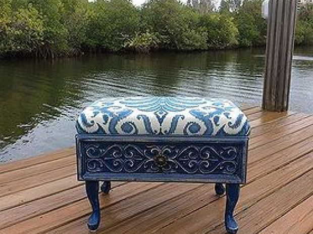 16 fabulous ways to repurpose old dresser drawers - beautiful ottoman