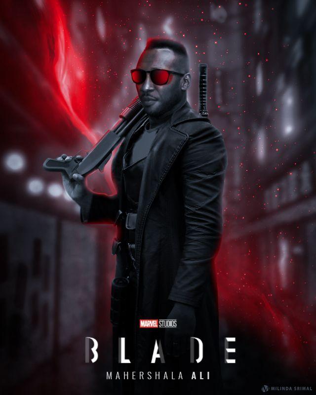 Blade 2022 Poster Blade 2022 Movie Poster Blade Marvel Marvel Movies Marvel Studios
