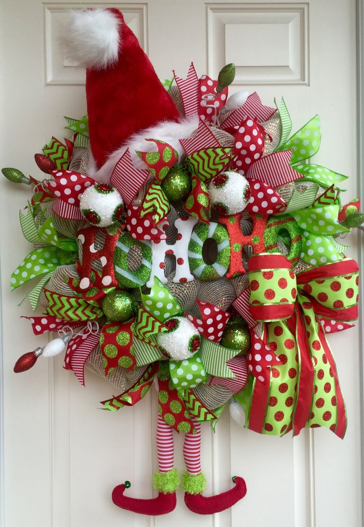 89 best Christmas/Winter Wreaths images on Pinterest | Winter ...