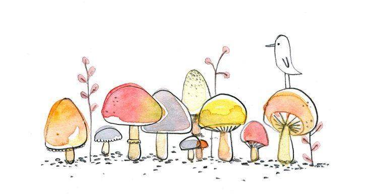 Like a wee village of mushrooms - so sweet.