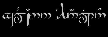 Rune Generator: type your name and see it written in Hobbit Runes, Lord of the Rings Runes or Elvish!!