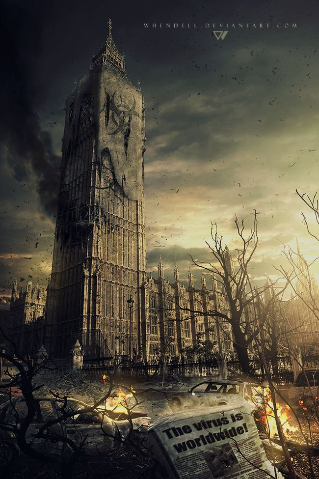 London - Infected by *Whendell on deviantART