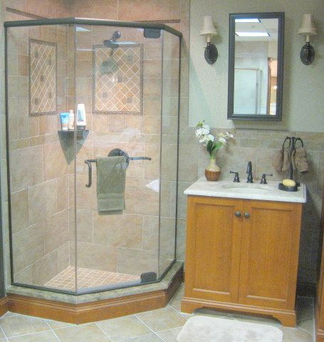 frameless shower glass is used in many shapes and sizes this neo angle by century frameless shower doorsangles