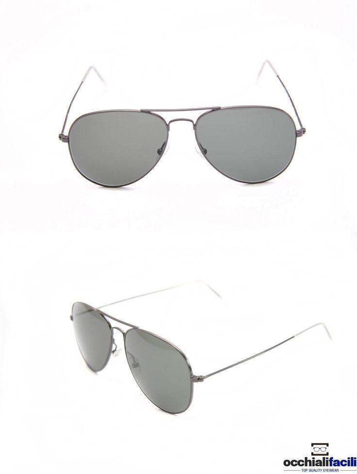 Occhiali da sole Mata Mod.1272 Col.Y1,in metallo con doppio ponte e terminali in celluloide,  lenti a tinta unica e forma a goccia. http://www.occhialifacili.com/prodotto/occhiali-da-sole-mata-1272-col-y1/