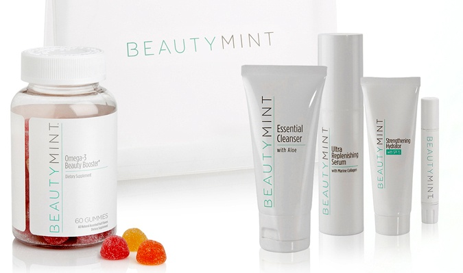What's especially informative about Beauty Mint Skin Care is that whether you opt to use one of their anti-aging formula's or not, you can take a free consultation on their website through 3 quick and easy steps.: Mint Skincare