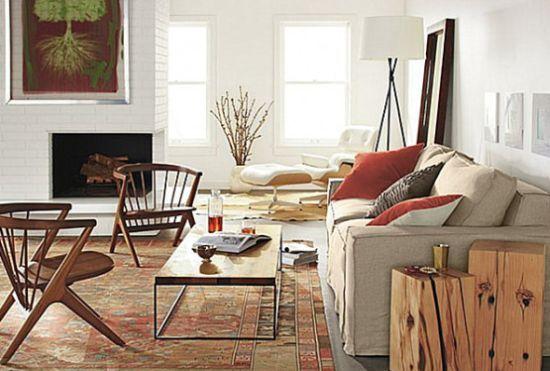 Decoração de Apartamentos com Lareiras - http://dicasdecoracao.net/decoracao-de-apartamentos-com-lareiras/