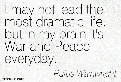 My mother's songs are really turning out to be by Rufus Wainwright ...