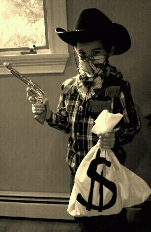 Cowboy Bank Robber Costume