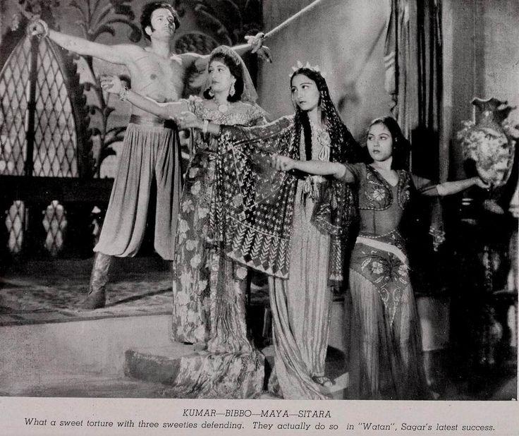 https://flic.kr/p/PbVBxV | Watan-1945-Kumar, Bibbo, Sitara Devi