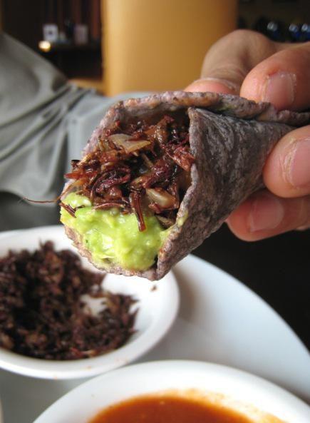 Chef Hugo Ortega's Tomatillo Grasshoppers | 20 Delicious Bug Recipes from Chefs