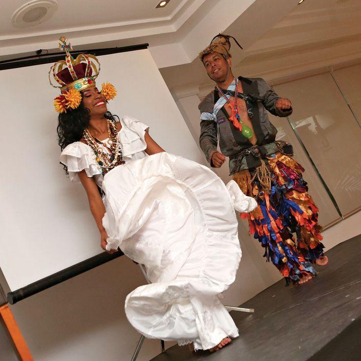 Muestra de baile folclórico.
