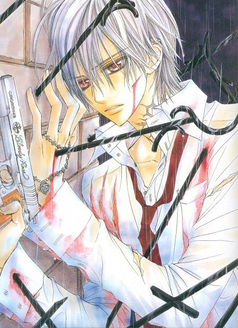 Matsuri Hino, Vampire Knight, Hino Matsuri Illustrations Vampire Knight, Zero Kiryuu