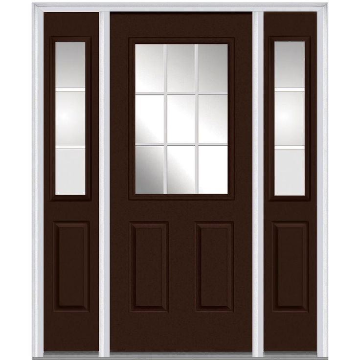 Milliken Millwork 64.5 In. X 81.75 In. Classic Clear Glass GBG 1/2