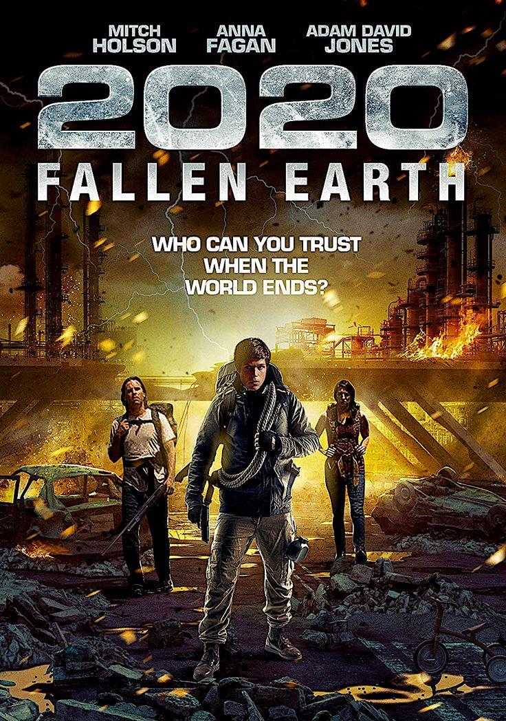 2020 FALLEN EARTH DVD (WILD EYE RELEASING) Wild eyes