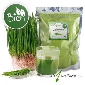 Weizengras Pulver Bio Weizengraspulver ist ein toller Nahrungsergänzungsmittel in grüßnen Smooties oder zu anderen Speisen udn Getränken. Weizengras hat viele Vitalstoffe.
