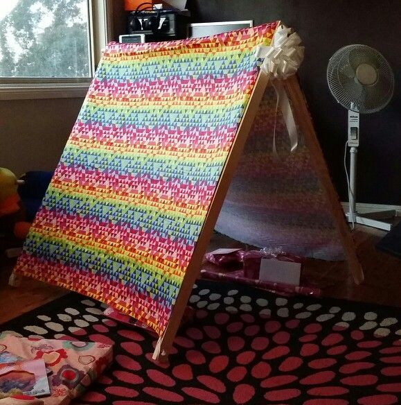 Finished toddler tent!