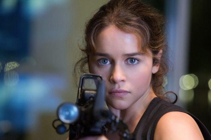 Emilia Clarke as Sarah Connor in 'Terminator Genisys'