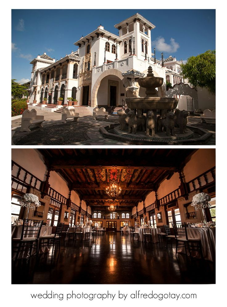 Casa de España is one of our favorite places for weddings in Puerto Rico.  Find us at www.alfredogotay.com for information about our wedding photography service!