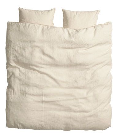 @Hollie Baker new online shop -  King/Queen Linen Duvet Set $79.95