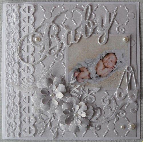 Voorbeeldkaart - babykaart - Categorie: Scrapkaarten - Hobbyjournaal uw hobby website
