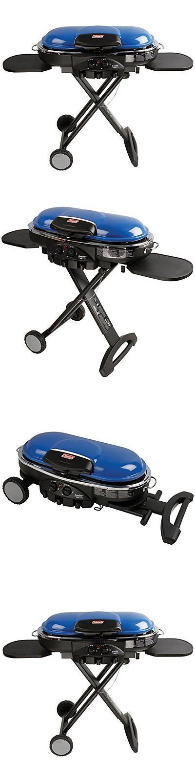 Camping BBQs and Grills 181388: Road Trip Propane Portable Grill Lxe Blue Roadtrip Bbq Camping Outdoor Gas Tailg -> BUY IT NOW ONLY: $184.04 on eBay!